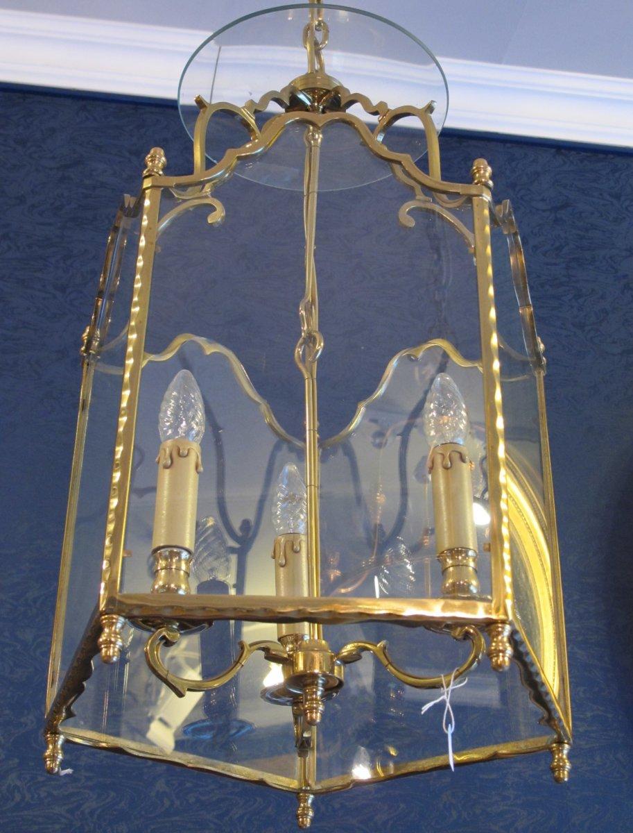 lanterne de style louis xv xixe si cle. Black Bedroom Furniture Sets. Home Design Ideas