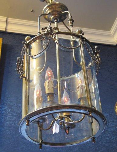 A Louis XVI style lantern, Napoleon III period (1848 - 1870)