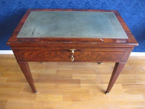 A Directoire architect table called à la Tronchin -
