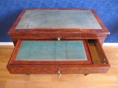18th century - A Directoire architect table called à la Tronchin