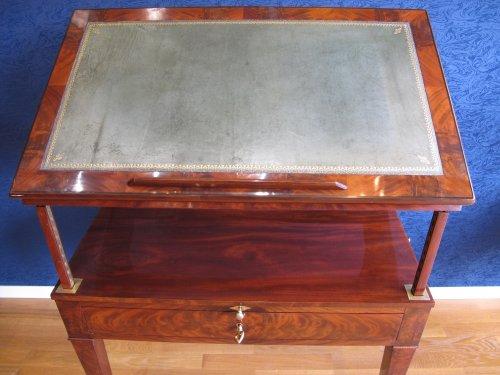 Directoire - A Directoire architect table called à la Tronchin