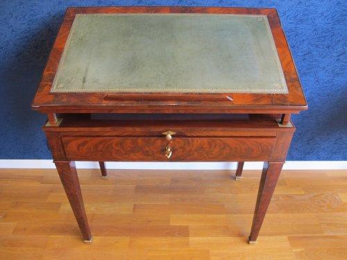 Antiquités - A Directoire architect table called à la Tronchin