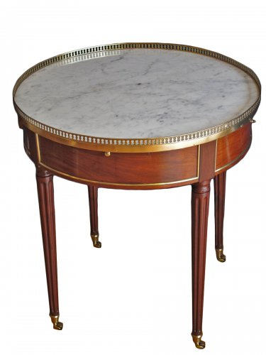 A Louis XVI period bouillotte table