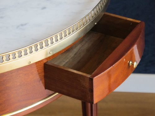 Furniture  - A Louis XVI period bouillotte table