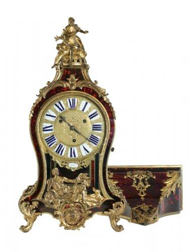 A Regence period (1715 - 1724) bracket clock.