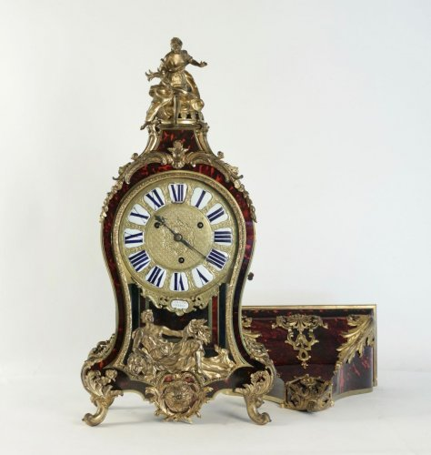 A Regence period (1715 - 1724) bracket clock.  - Clocks Style French Regence