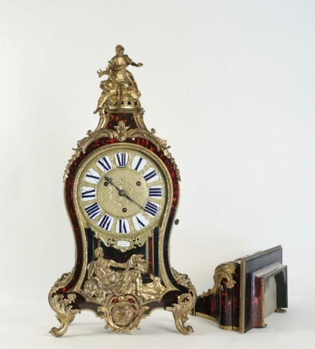 Clocks  - A Regence period (1715 - 1724) bracket clock.