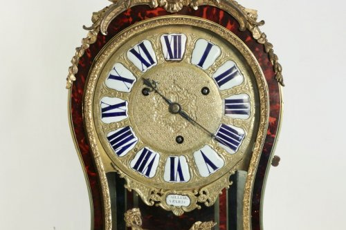 A Regence period (1715 - 1724) bracket clock.  - French Regence
