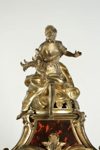French Regence - A Regence period (1715 - 1724) bracket clock.