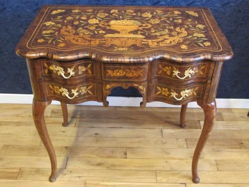 - A Dutch writing desk, 18th century