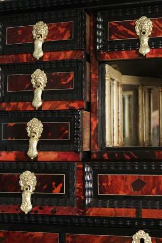 - A 17th century Flemish cabinet