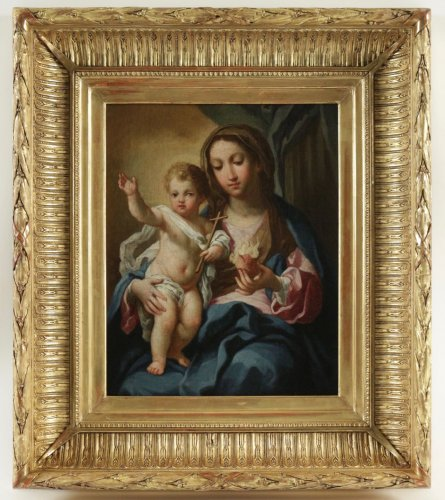 Madonna and Child - Italian school of 18th century