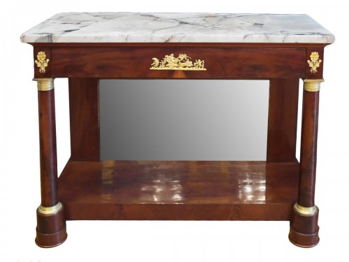 A 1st Empire period console table