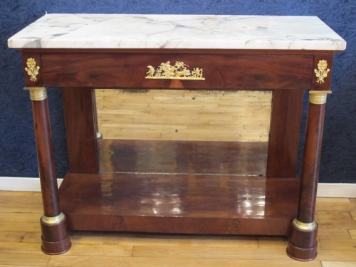 Antiquités - A 1st Empire period console table