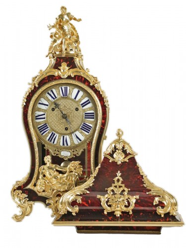 A Regence period (1715 - 1724) bracket clock