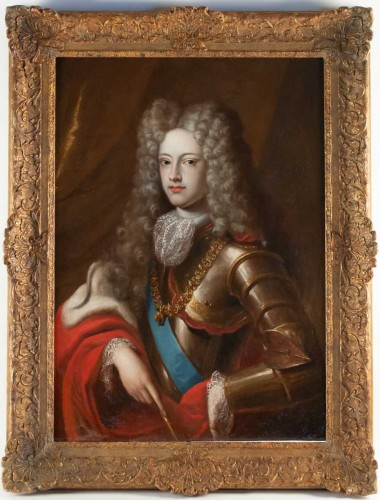 Portrait of Philippe V of Spain - French school of the 17th century