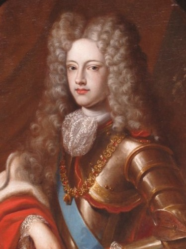 Portrait of Philippe V of Spain - French school of the 17th century - Paintings & Drawings Style