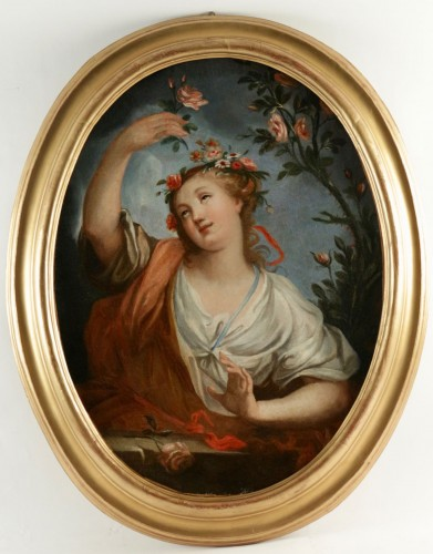 Paintings & Drawings  - The Spring & The Summer. - French school of the 18th century
