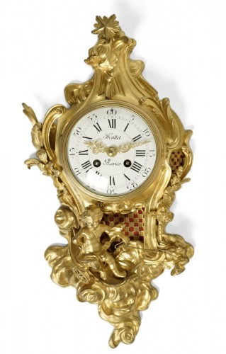 A Louis XV style bracket clock