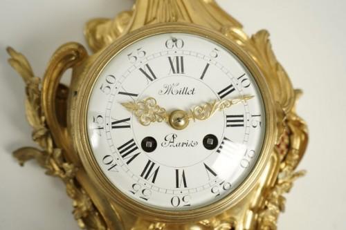 A Louis XV style bracket clock - Clocks Style Napoléon III