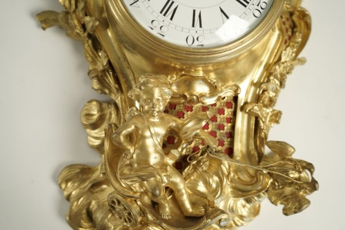 Clocks  - A Louis XV style bracket clock
