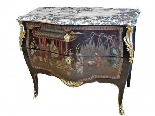 A Napoleon III period commode.