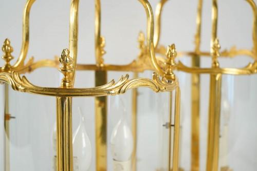 A Pair of Louis XV style lanterns. -