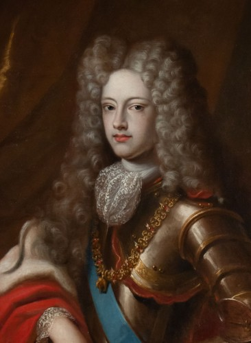 Paintings & Drawings  - Portrait of Philippe V of Spain - French school of the 17th century