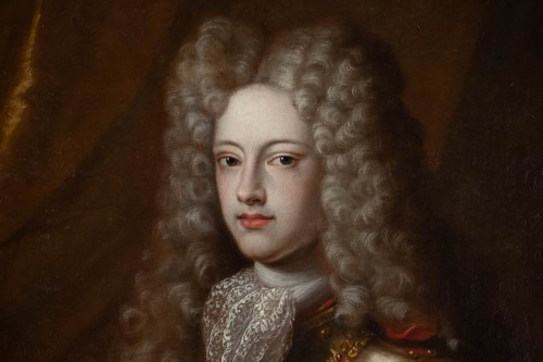 Portrait of Philippe V of Spain - French school of the 17th century -