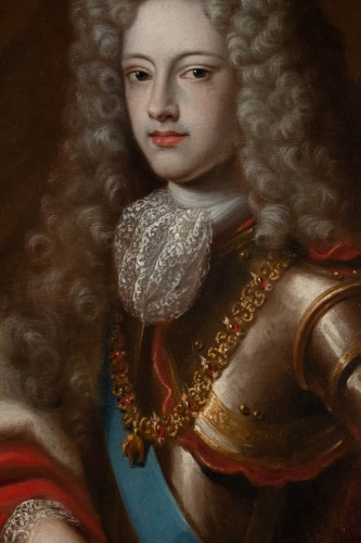 17th century - Portrait of Philippe V of Spain - French school of the 17th century