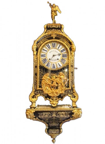 A Louis XIV bracket clock