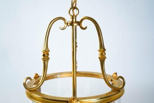 Lighting  - A Louis XVI style pair of lanterns