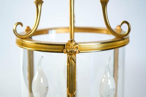 20th century - A Louis XVI style pair of lanterns