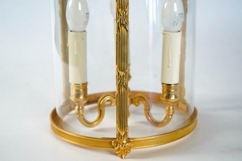 A Louis XVI style pair of lanterns -