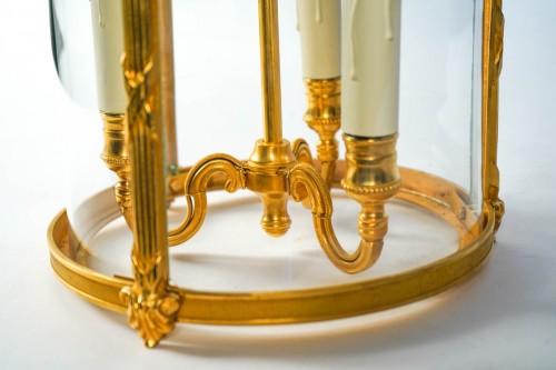 - A Louis XVI style pair of lanterns