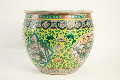 Asian Art & Antiques  - A Fishbowl, China, Qing dynasty