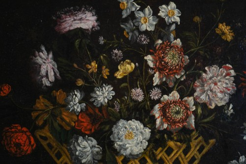 Paintings & Drawings  - Still Life with the Flowers - Flemish school of the 17th century