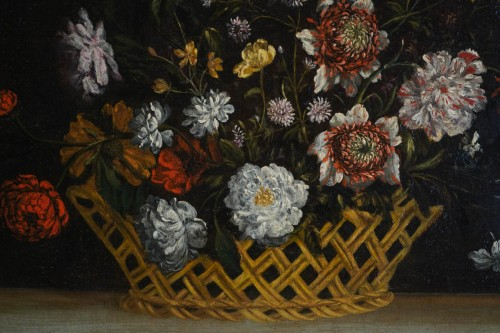 17th century - Still Life with the Flowers - Flemish school of the 17th century