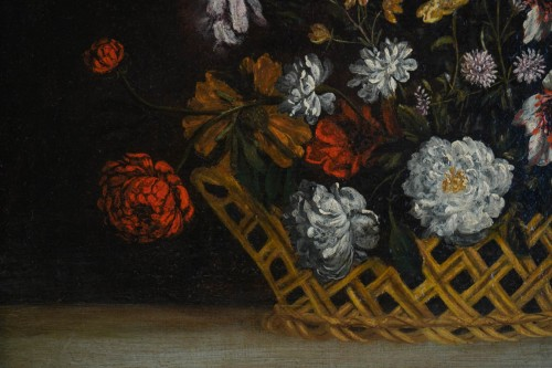 Still Life with the Flowers - Flemish school of the 17th century -