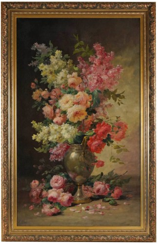 Alfred Godchaux (1835 - 1895) - A Bouquet of flowers