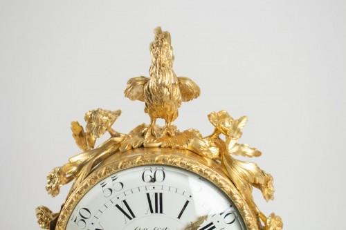 "Clocks  - A bronze clock ""au lion"""