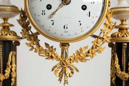 18th century - A Louis XVI portico clock