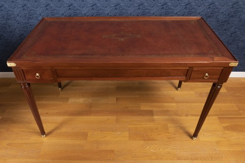 Furniture  - A Louis XVI period  tric-trac game table