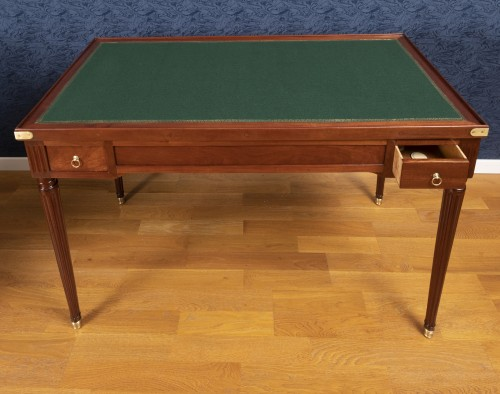 A Louis XVI period  tric-trac game table -