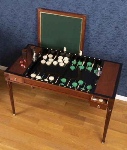 18th century - A Louis XVI period  tric-trac game table