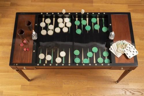 Louis XVI - A Louis XVI period  tric-trac game table