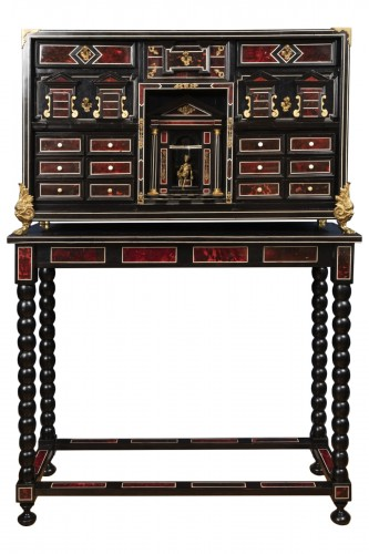 A 17th century Flemish cabinet