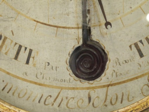 Decorative Objects  - A Louis XVI barometer - thermometer