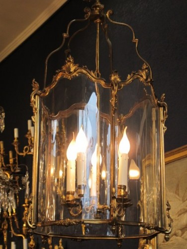 A lanterne in Louis XV style.