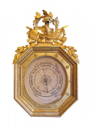 A 1st Empire period barometer (1804 - 1815)